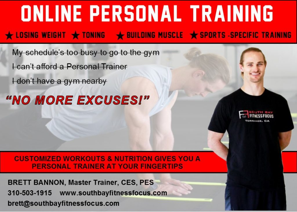 training at south bay fitness focus